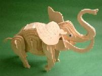 Toy Woodcraft Elephant