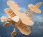 Toy Woodcraft BI-Plane