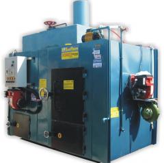 Incinerator double chamber