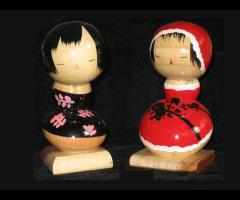 A Pair Small Dolls