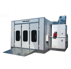 Double Blower Spray Booth