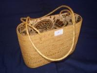 Bag full woven fabric combinations