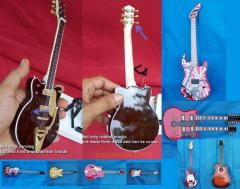 Miniature Guitar Replica