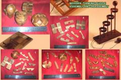 Wooden Thinking Puzzle