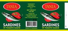 Canned Sardines 155 & 425 Gr