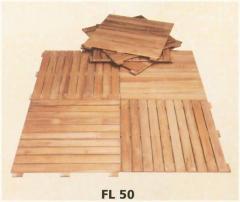 Wooden Garden Tile
