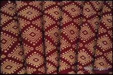 Handwoven Silk Maroon