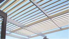 Aluminium roof