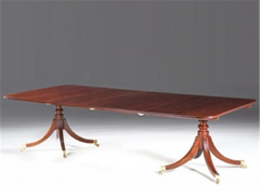 Dining table Two Pillar