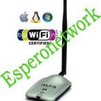 USB Wifi 2.4GHz 2000mW ALFA