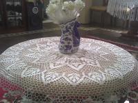 Crochet tablecloth 01
