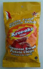 Japanese Sweet Potato Chips Kreeoks