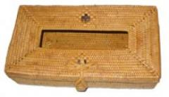 The rattan tissue box