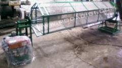 Organic sieving machine