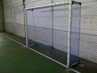 Goalposts and goal nets