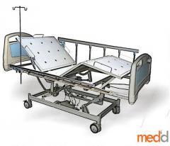 Hospital Bed 3 Crank Electric