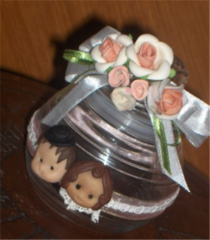 Souvenir jar