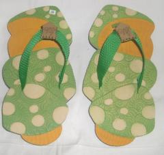 Flip flops Jamur