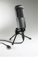 Cardioid Condenser Microphone USB AT2020