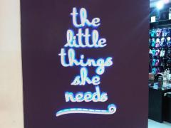 Acrylic huruf neon