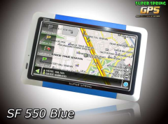 GPS Car Navigation SF 550 Blue