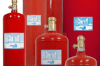 FM200 gaseous agent fire extinguishing system
