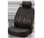 Leather & Lamsbskin Seat