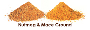 Nutmeg and Mace Ground