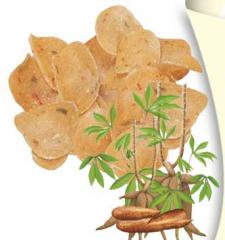 Cassava Round Crackers