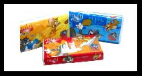 Multi Travel Pack Tom & Jerry 3 Ply Tissue
