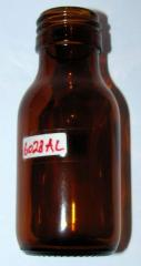 Pharmacy Amber Bottle