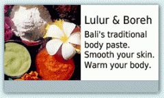 Balinese Body Scrubs