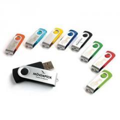 Metal USB Flash Drive swivel