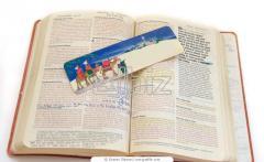 Carved Color Bookmark