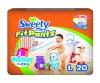 Sweety Pants Diaper L 20