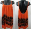Tie Dye Cover Up Dress