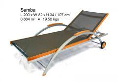 Samba Aluminum Lounger