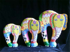 Elephant set of 3