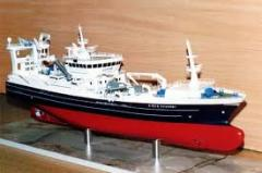 Trawler Ship Model