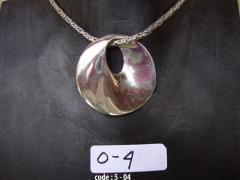 Handcrafted S.S Plain Pendant