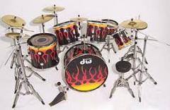 Rolling Stone Drum Miniature