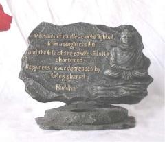 Buddha Quote Tea Lite