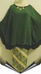 One Stel + Skirt Batik Dress Party