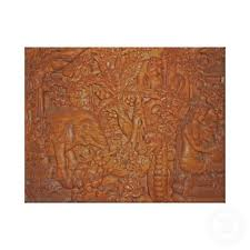 Balinese Calonarang Wood Carvings