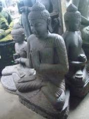 Welcome Statue Bali Carving