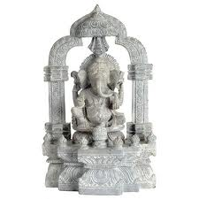 Ganesh Bali Stone Sculpture