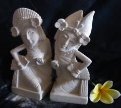 Bali Stone Carving a miniature of Jogeg Dance