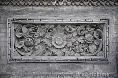 Bali Stone Carvings with Relief Motif
