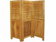 Teak Weaving Screen