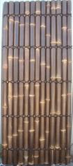 Split black bamboo fencing 240x100cm